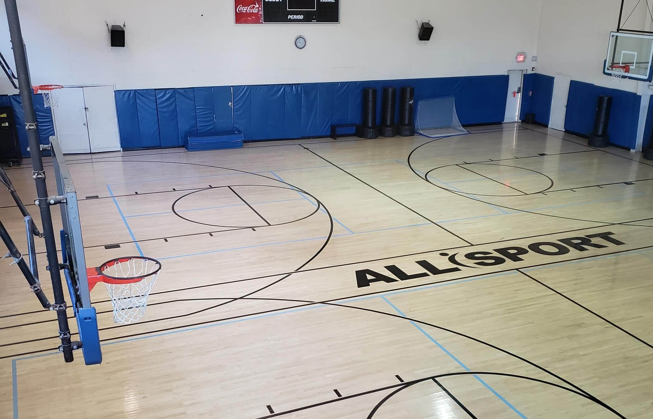 Basketball Gym And Racquetball Courts All Sport Health Fitness